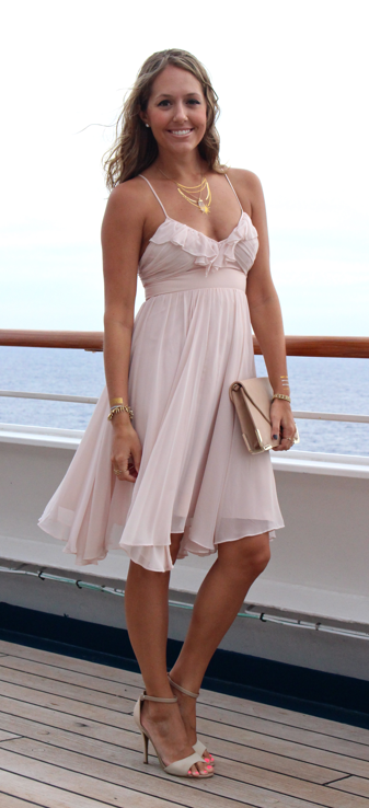Formal night on a Carnival cruise