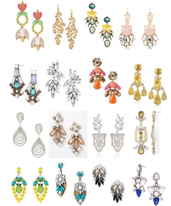 Statement earrings under $50
