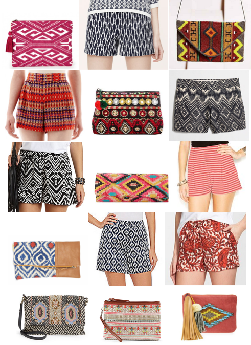 Tribal print shopping on a budget
