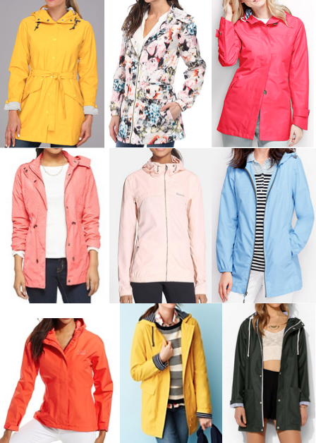 Rain coats on a budget