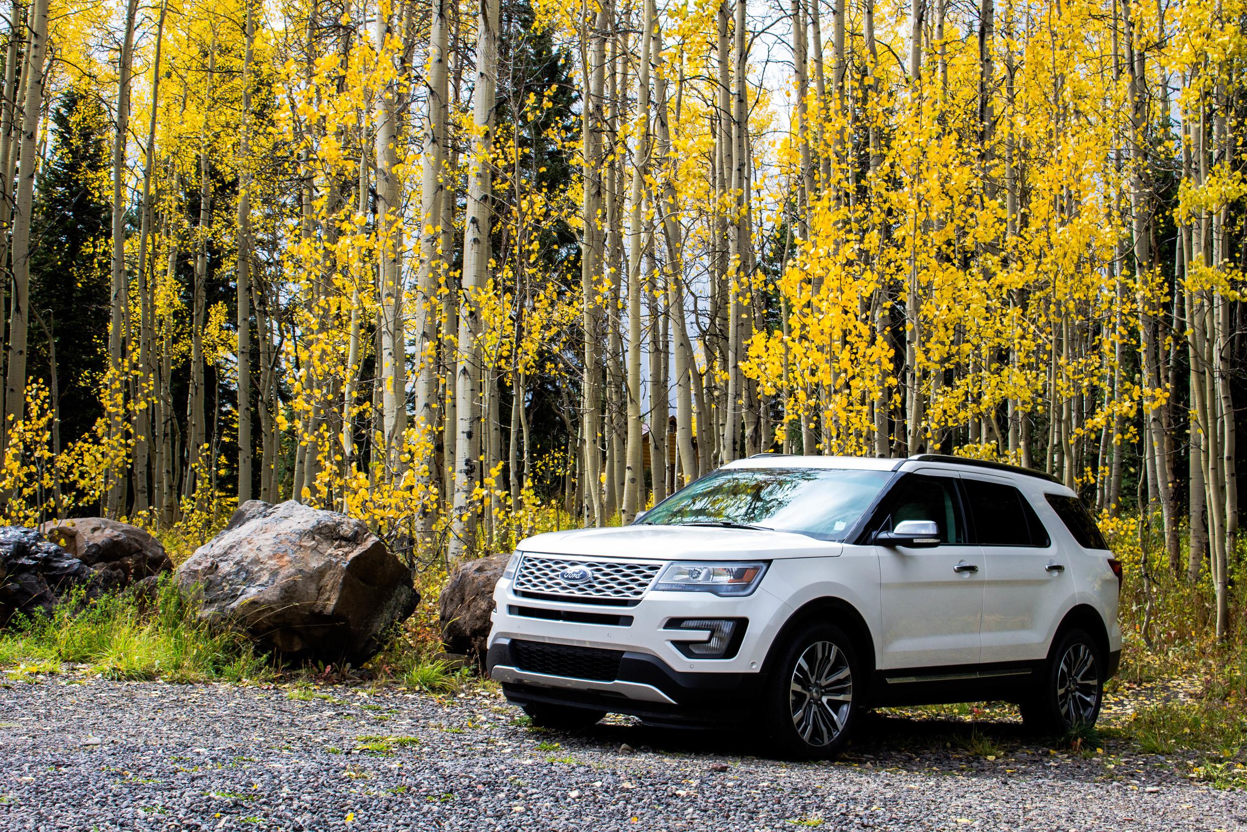 Grand Mesa Colorado, Ford Explorer Platinum 2016