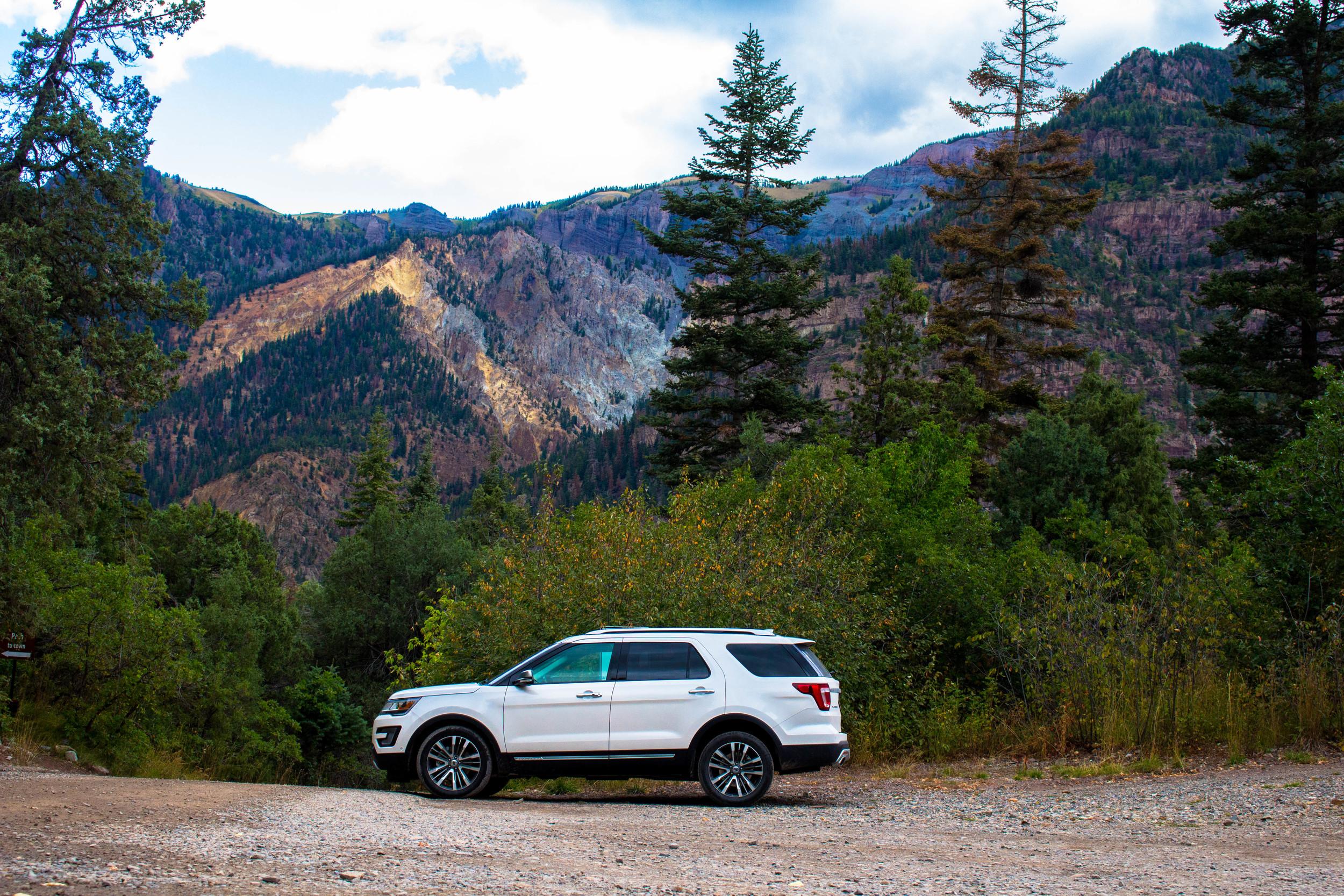 Ouray, Colorado - 2016 Ford Explorer Platinum