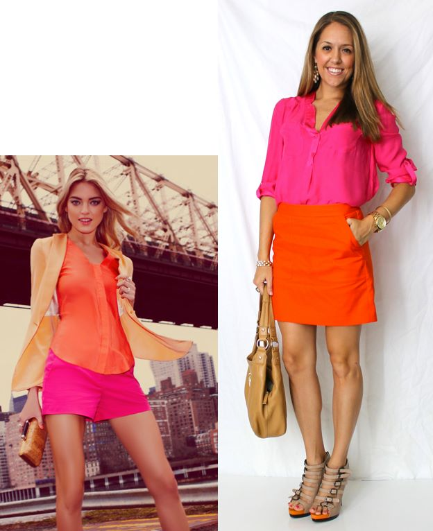 Color Combo: Orange and Pink