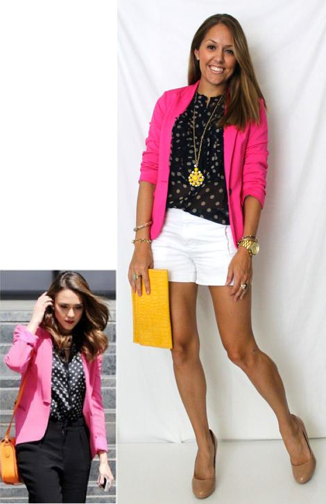 Color Combo: Pink, Black and White