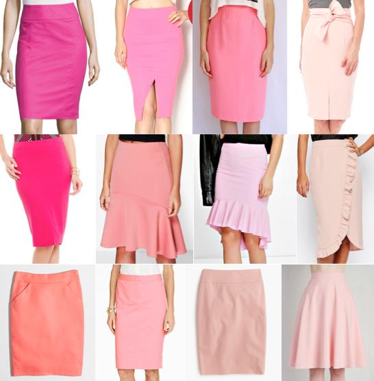 Pink skirts under $100