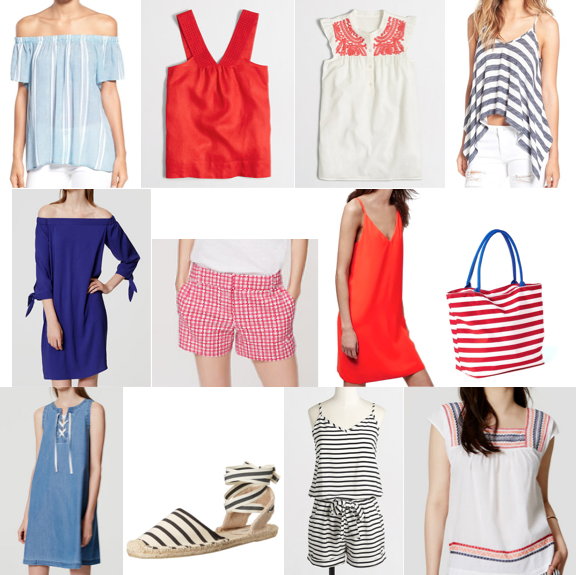 July 4th shopping