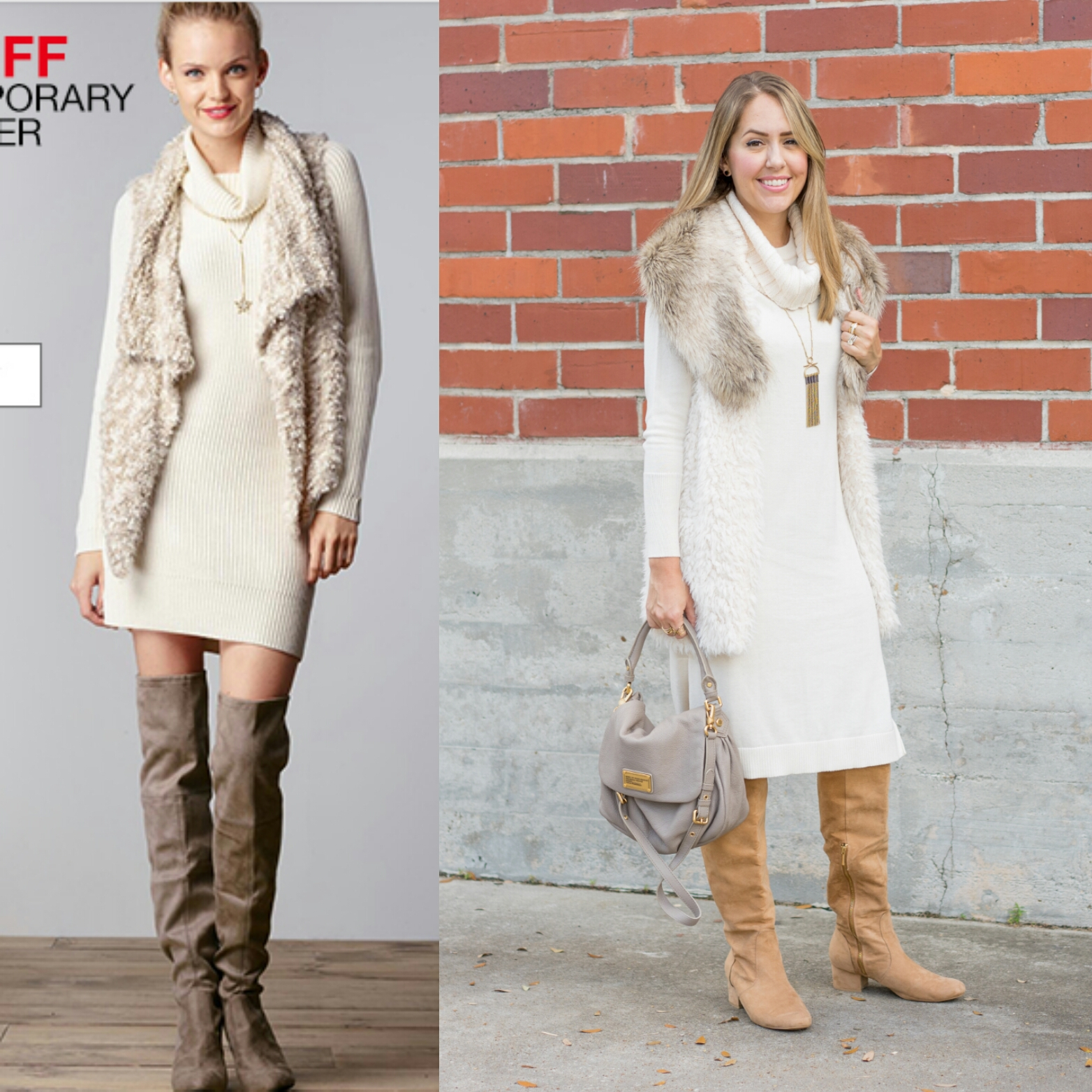 Inspiration:  Macy's  ( Dress / Boots )