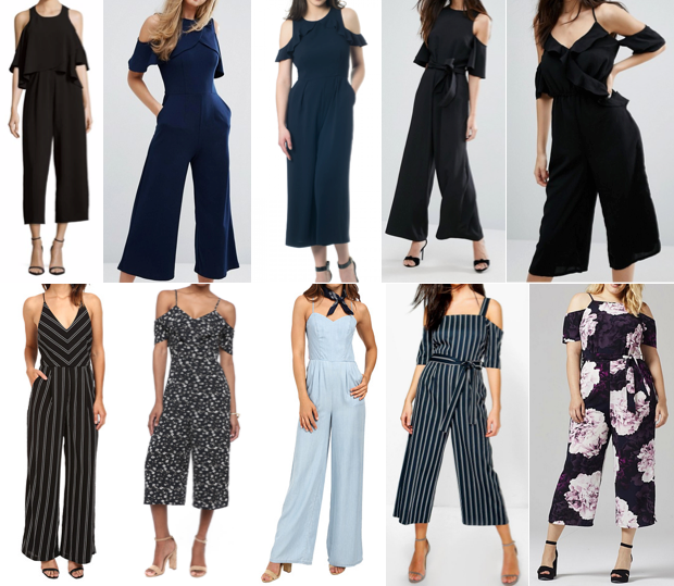 Wide leg jumpsuits on a budget