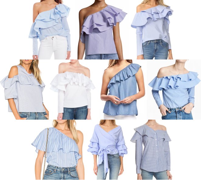 Ruffle tops on a budget