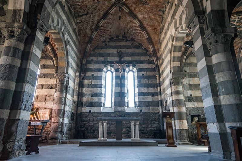 Portovenere San Pietro church