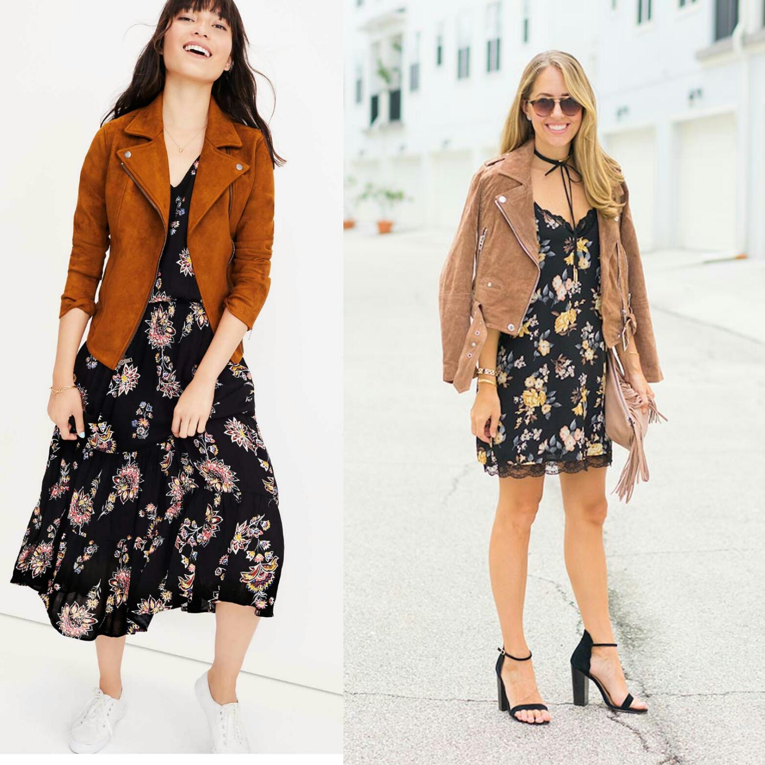 Inspiration: Old Navy  Jacket  /  Dress