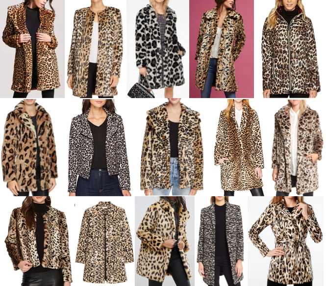 Leopard coats on a budget