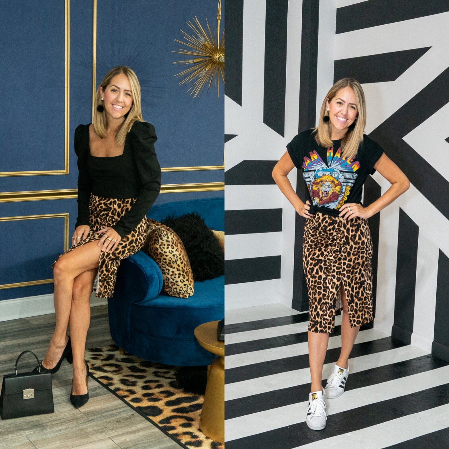 Outfit on LEFt