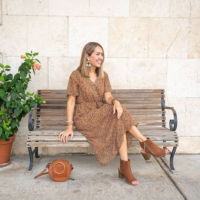 3 ways to wear leopard print with @veryjane on the blog today!! 🐆 Dress, sweater, shoes - which is your fave?? 🤩 Shop these same finds, which are deeply discounted items sold by boutiques across the country!! But you gotta move quick... deals only last 72 hours. 🙌    . . #ad #thatsmyjane #lookforless #budgetfashion #boutique #boutiqueshopping #teacherstyle #southernstyle #orlandoblog #orlandoblogger