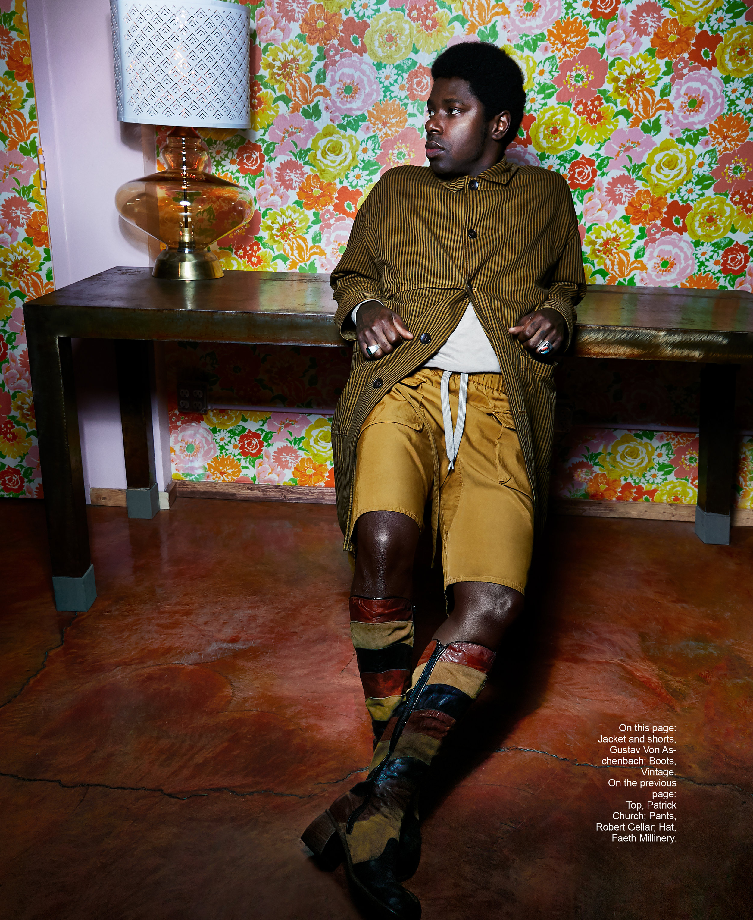 CURTIS HARDING x THIS BITCH MAGAZINE