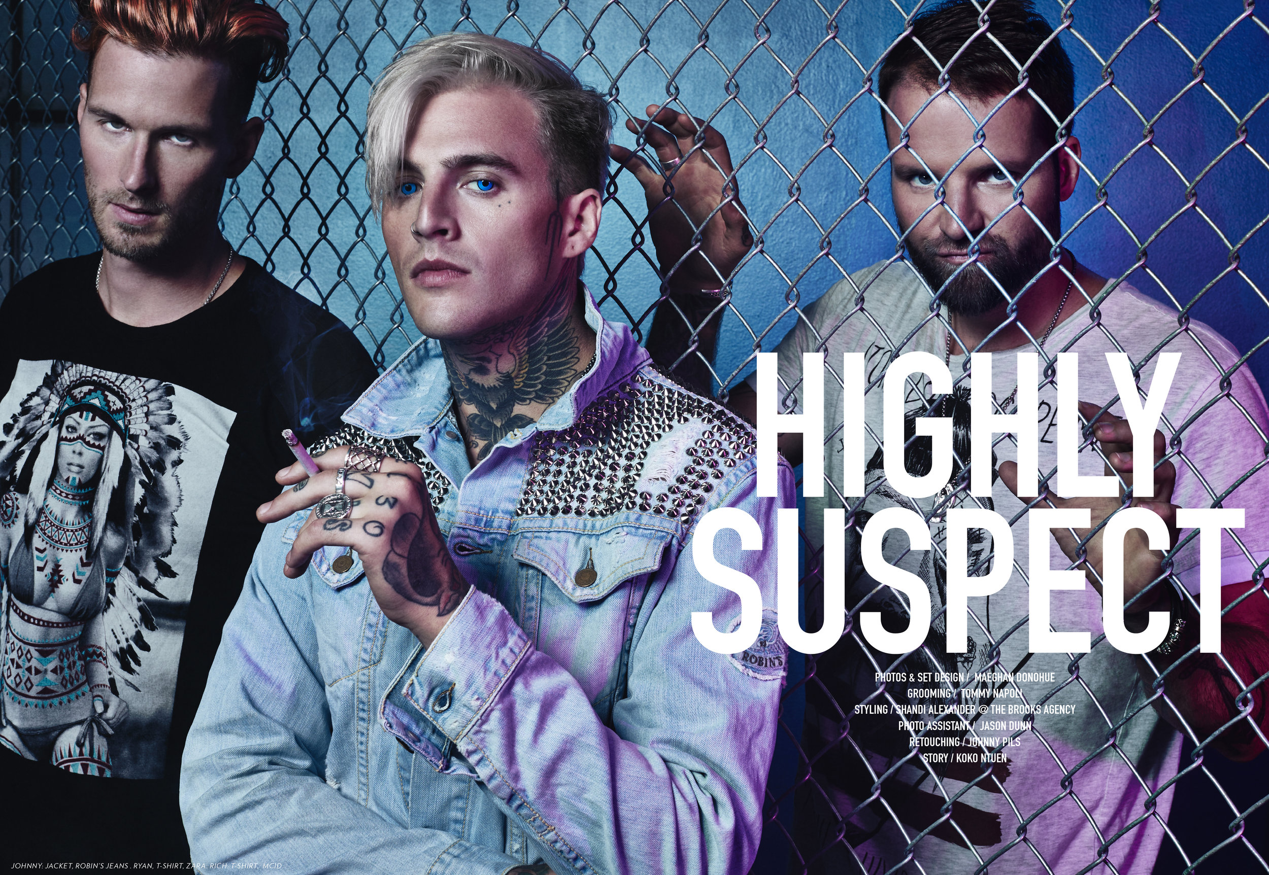 HIGHLY SUSPECT x LADYGUNN MAGAZINE