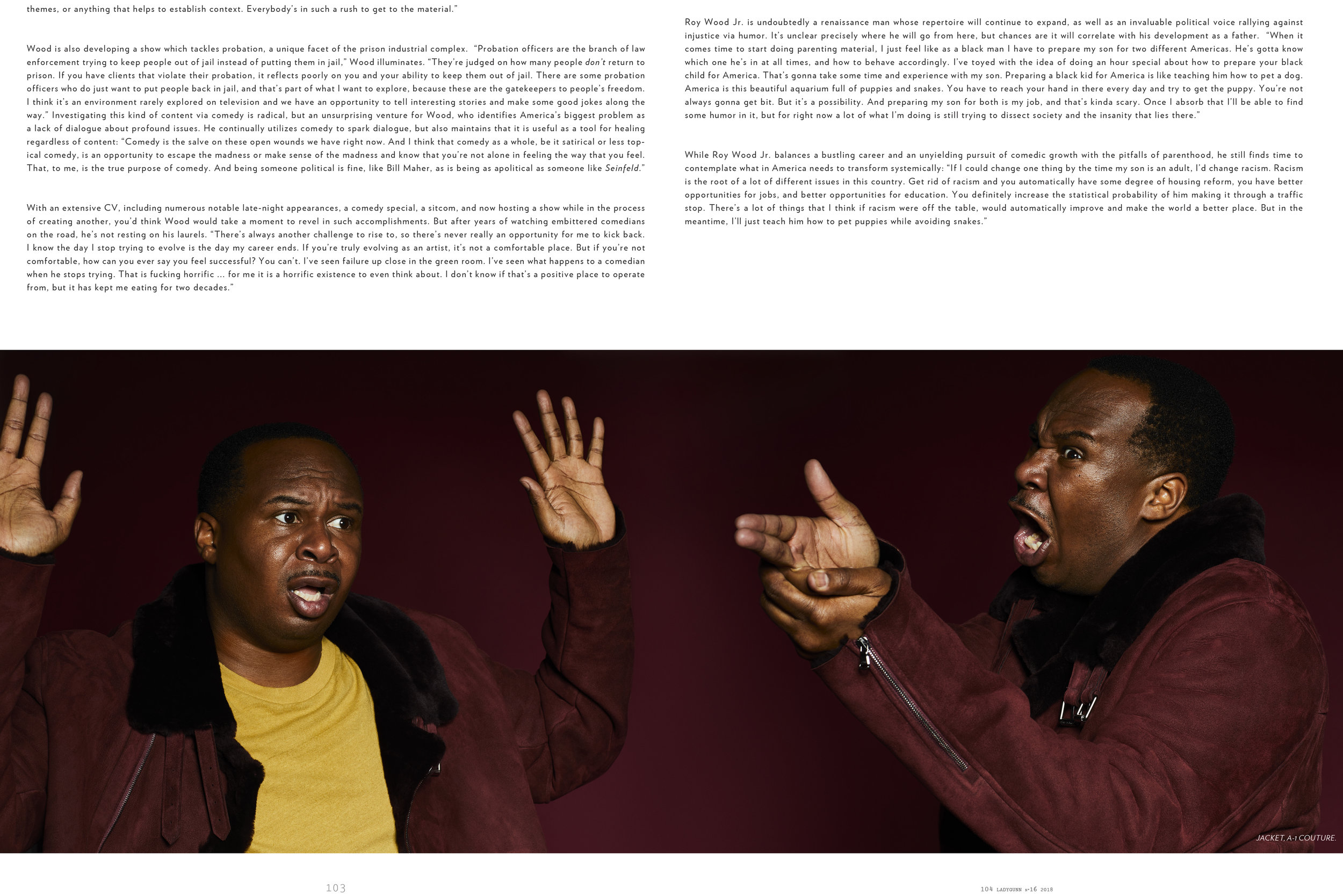 ROY WOOD JR. x LADYGUNN MAGAZINE