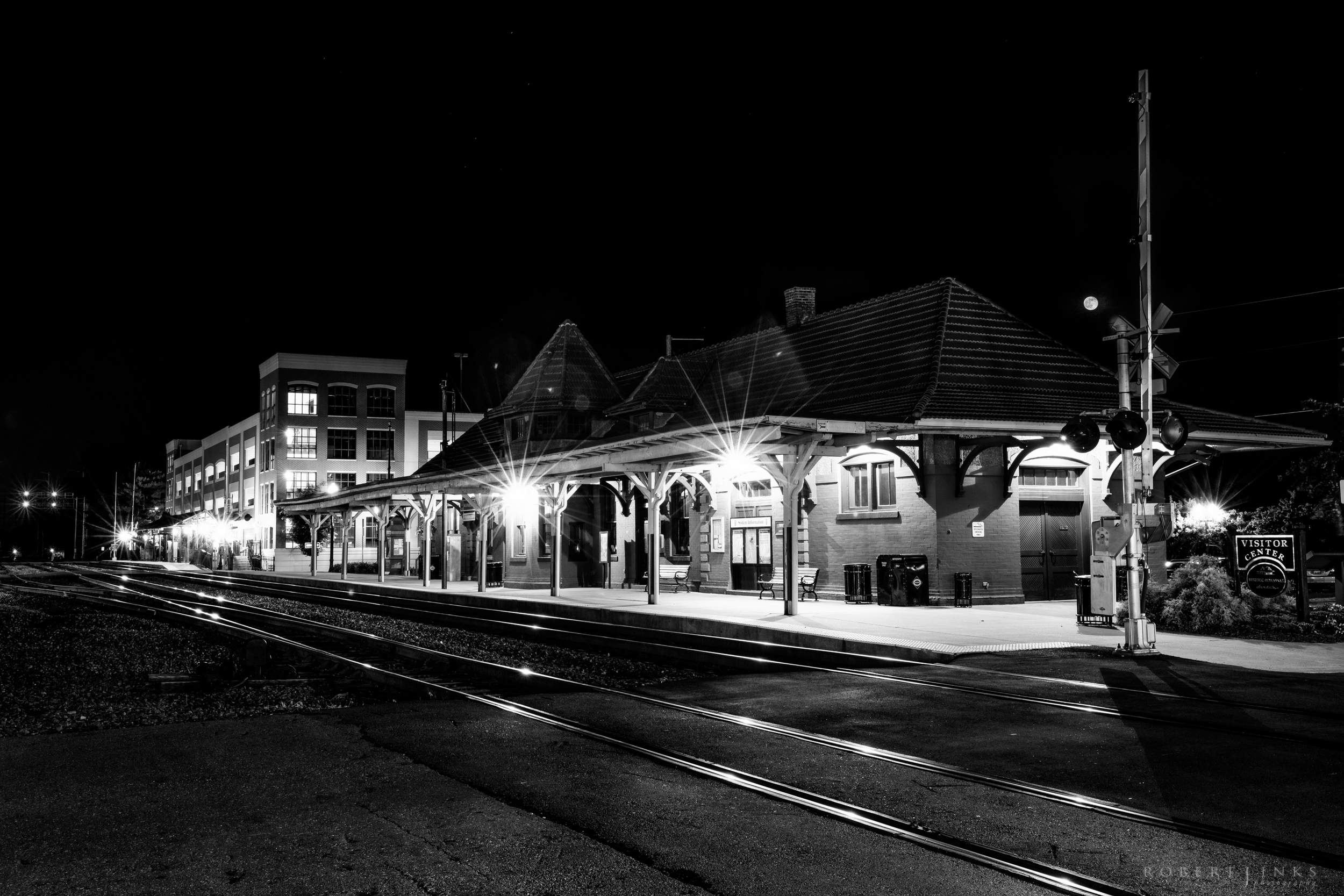 Historic Old Town Manassas Train Station