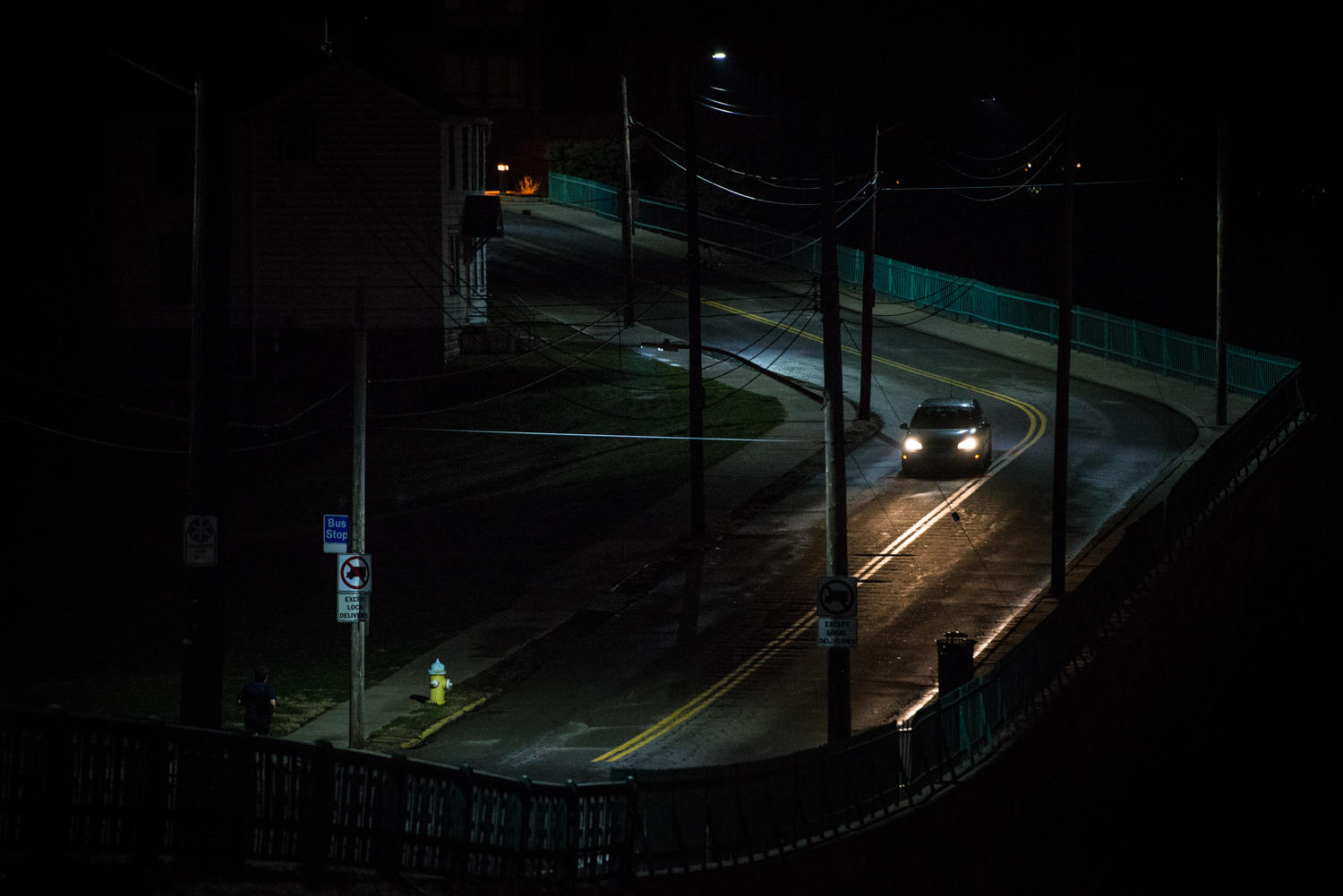One of the features I love about my Nikon D600 is its ability to see in the dark without compromising clarity. This image was captured with a high ISO of 4000, which allowed for a shutter speed of 1/160th at F 3.2, yes there is very little grain present.