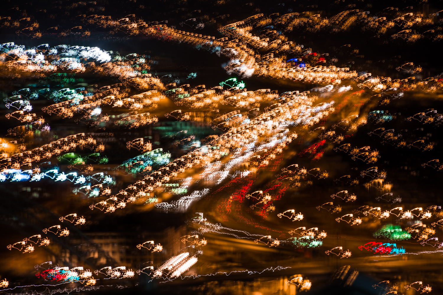 This was a goof while using the 70-200mm to reach for detail images of the city.