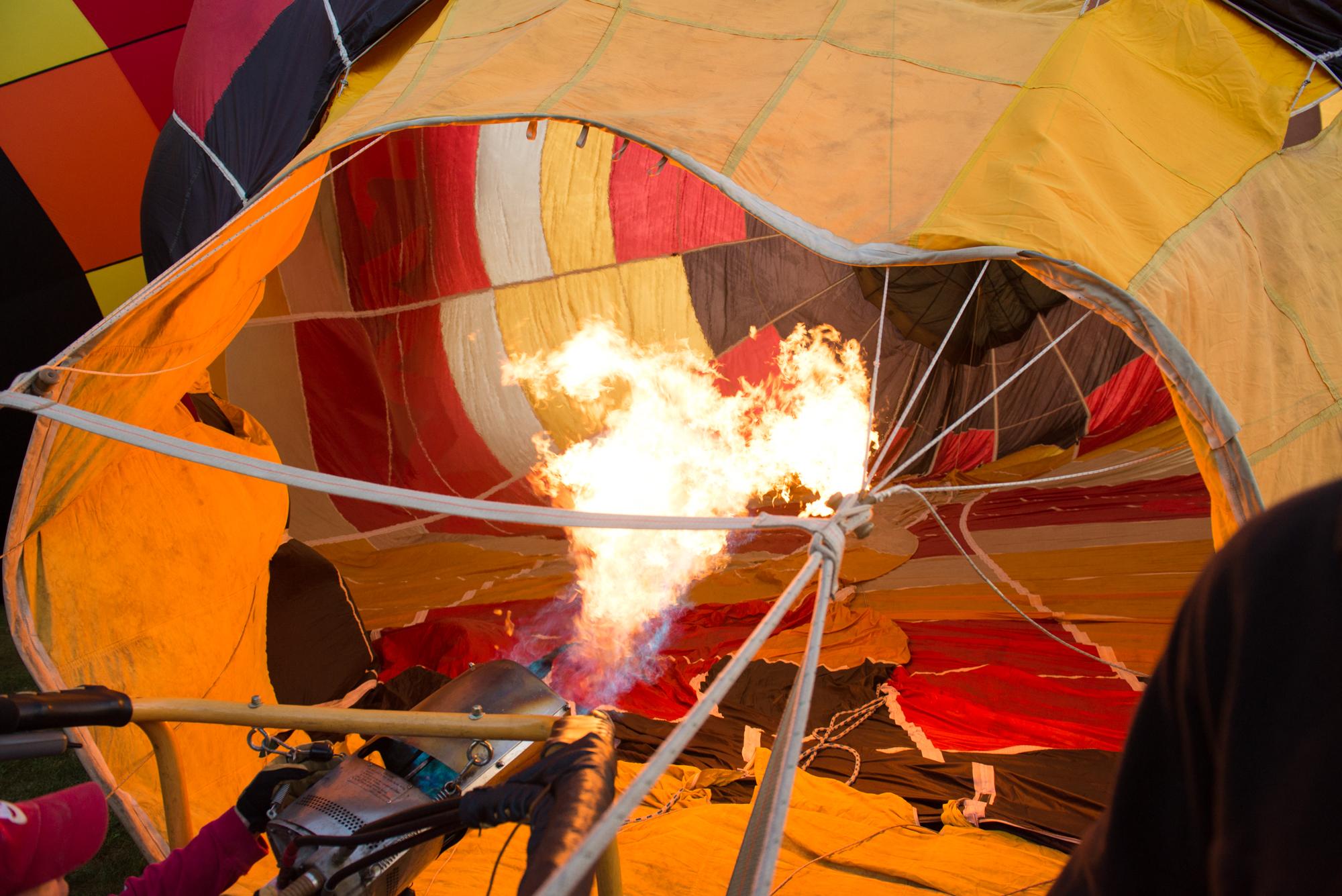 Firing the Burner