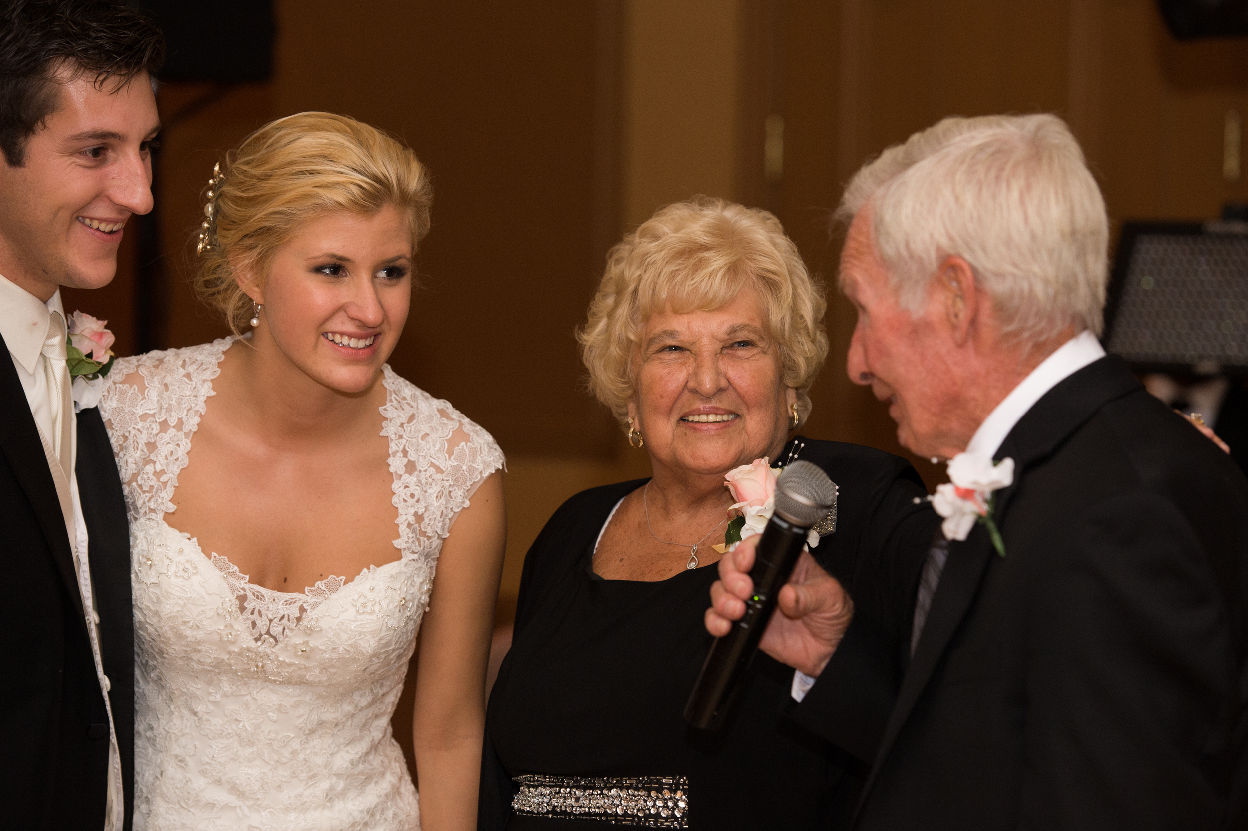 Married for a few hours and married for 63 years!