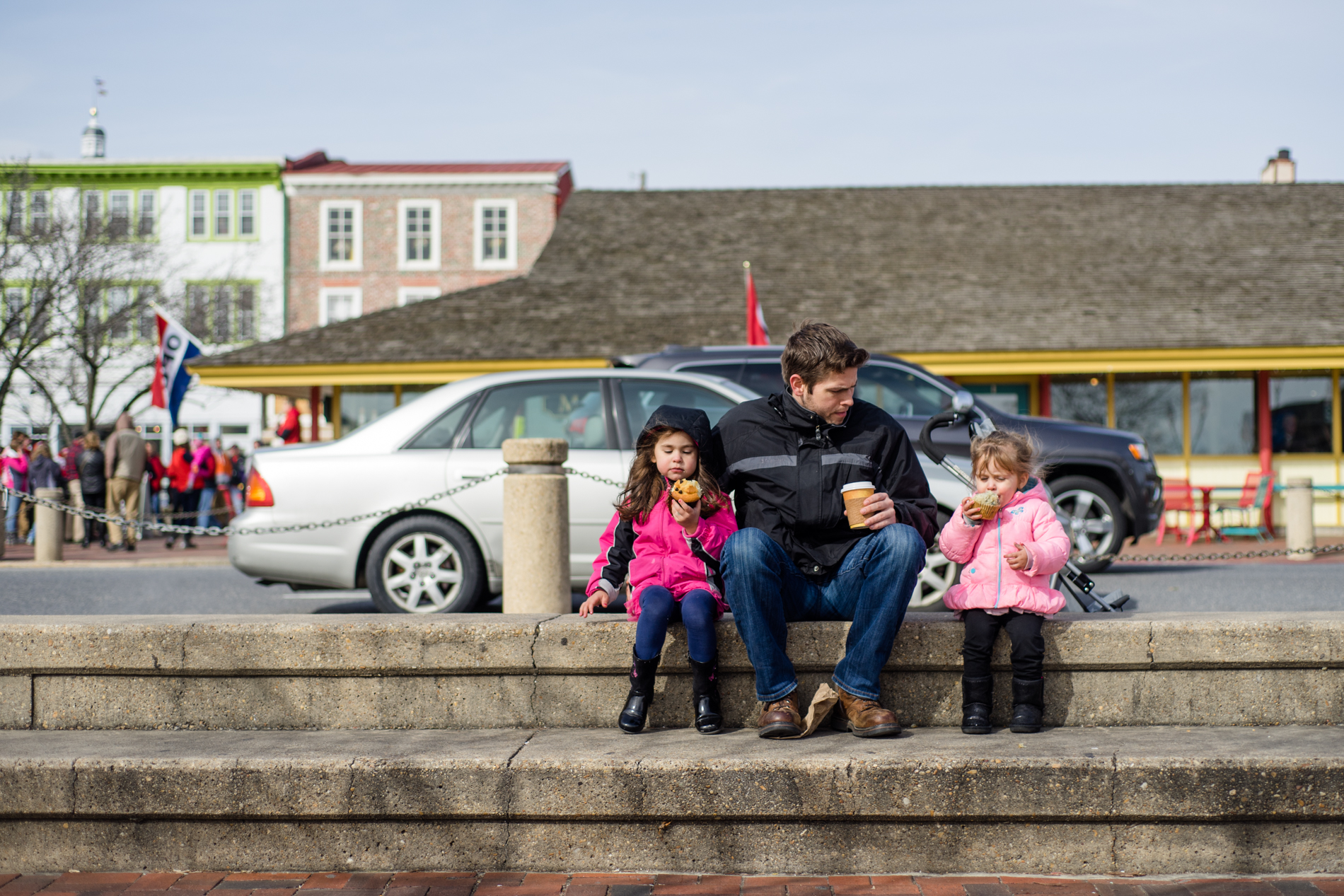 Families were all over Annapolis enjoying the sunny day.