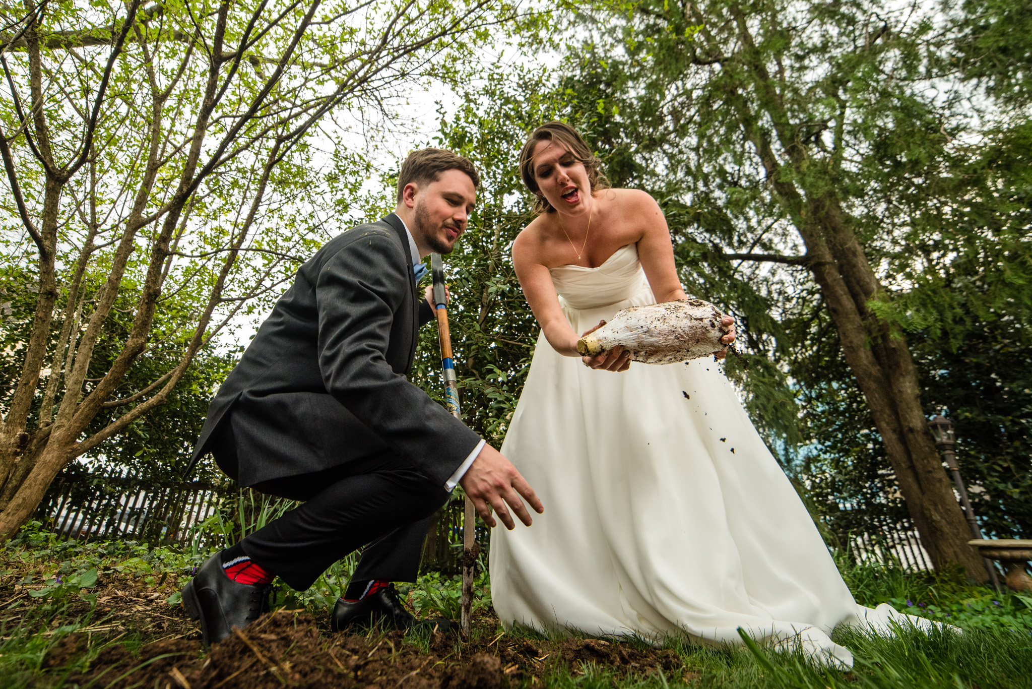 Mike and Jenna's wedding at Birkby House