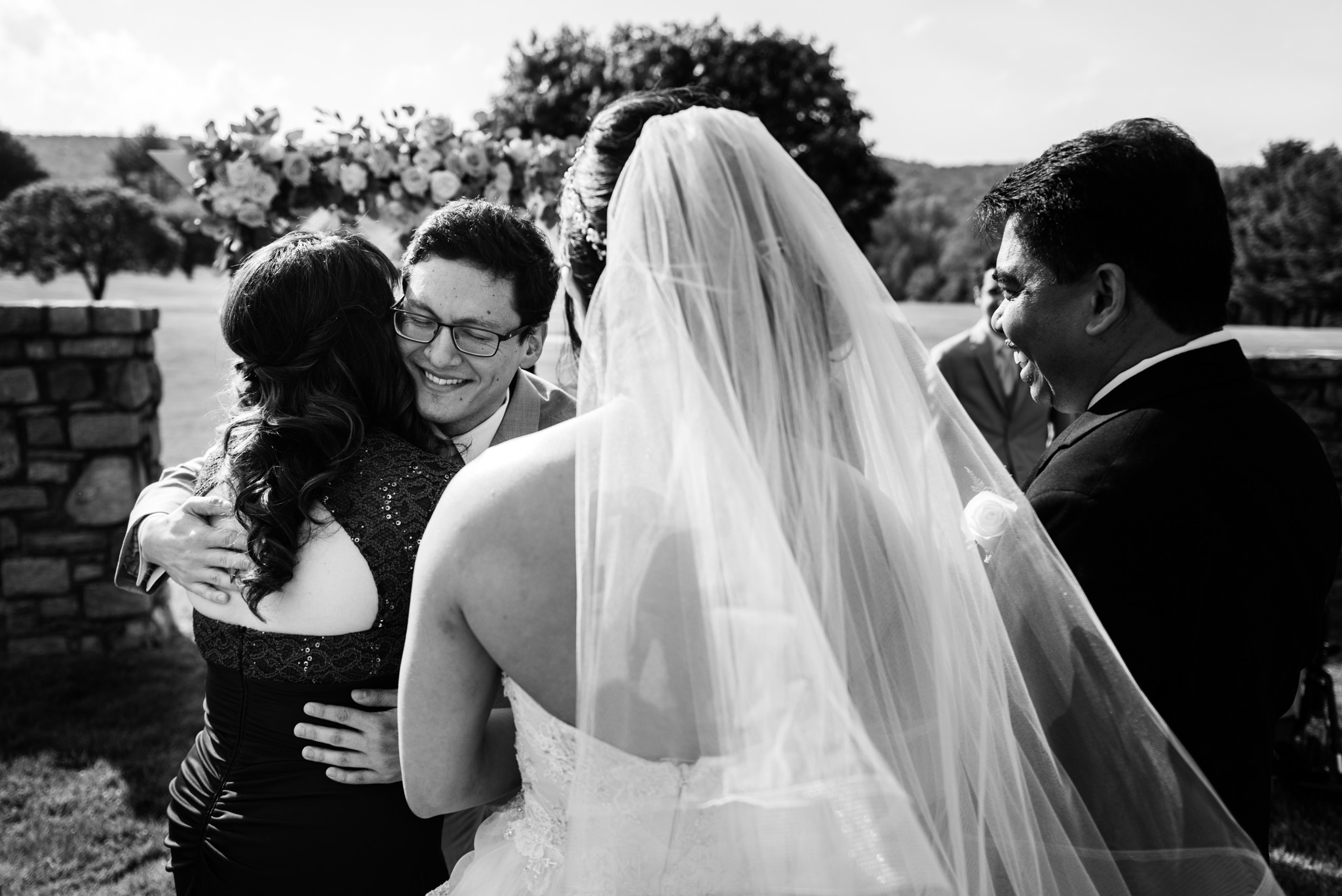 Grant and April's wedding at Evergreen Country Club