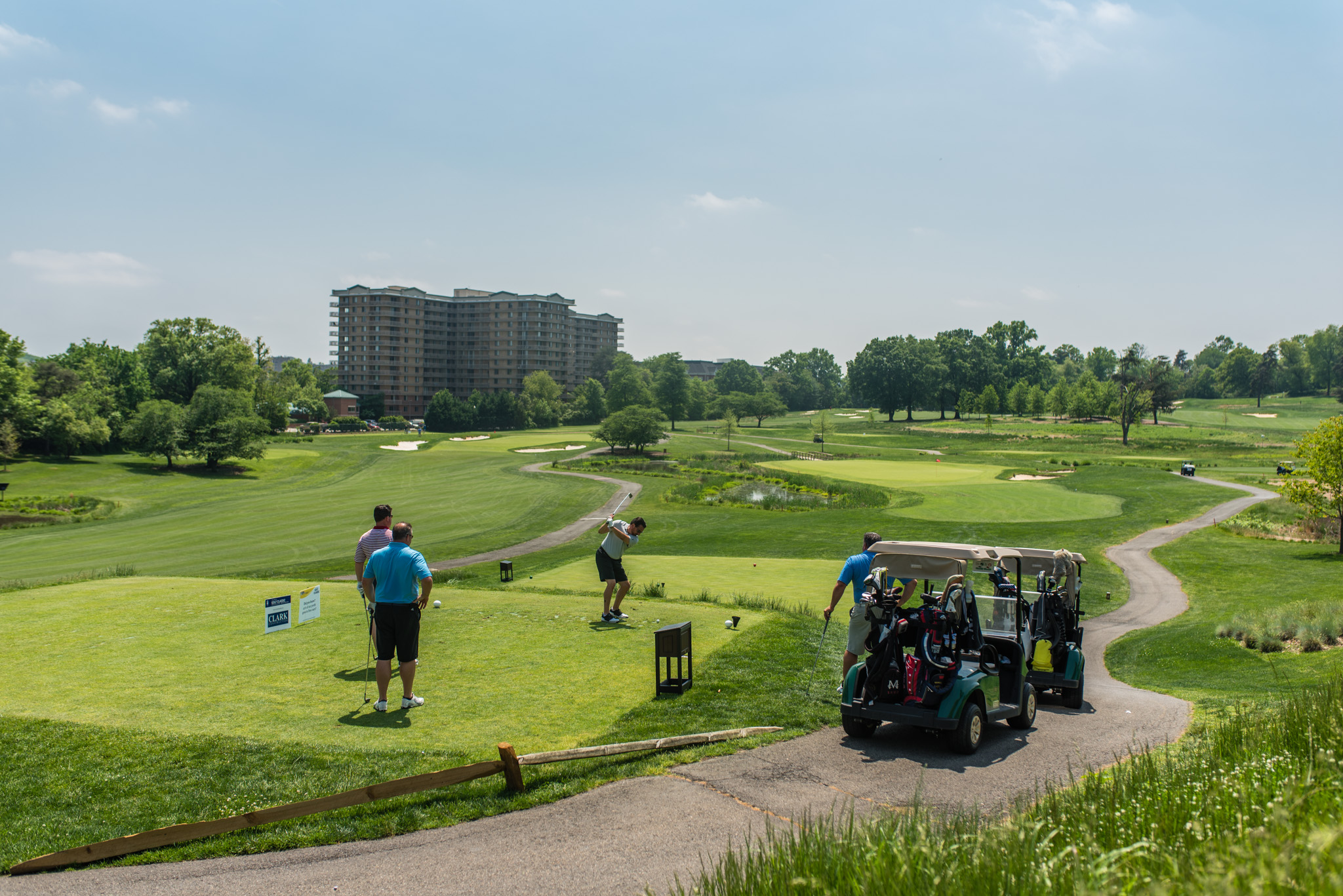 Golf Tournament at Army Navy Country Club