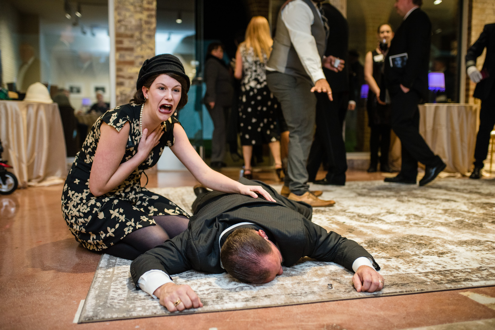 Murder on the Orient Express at the Workhouse Arts Center Gala