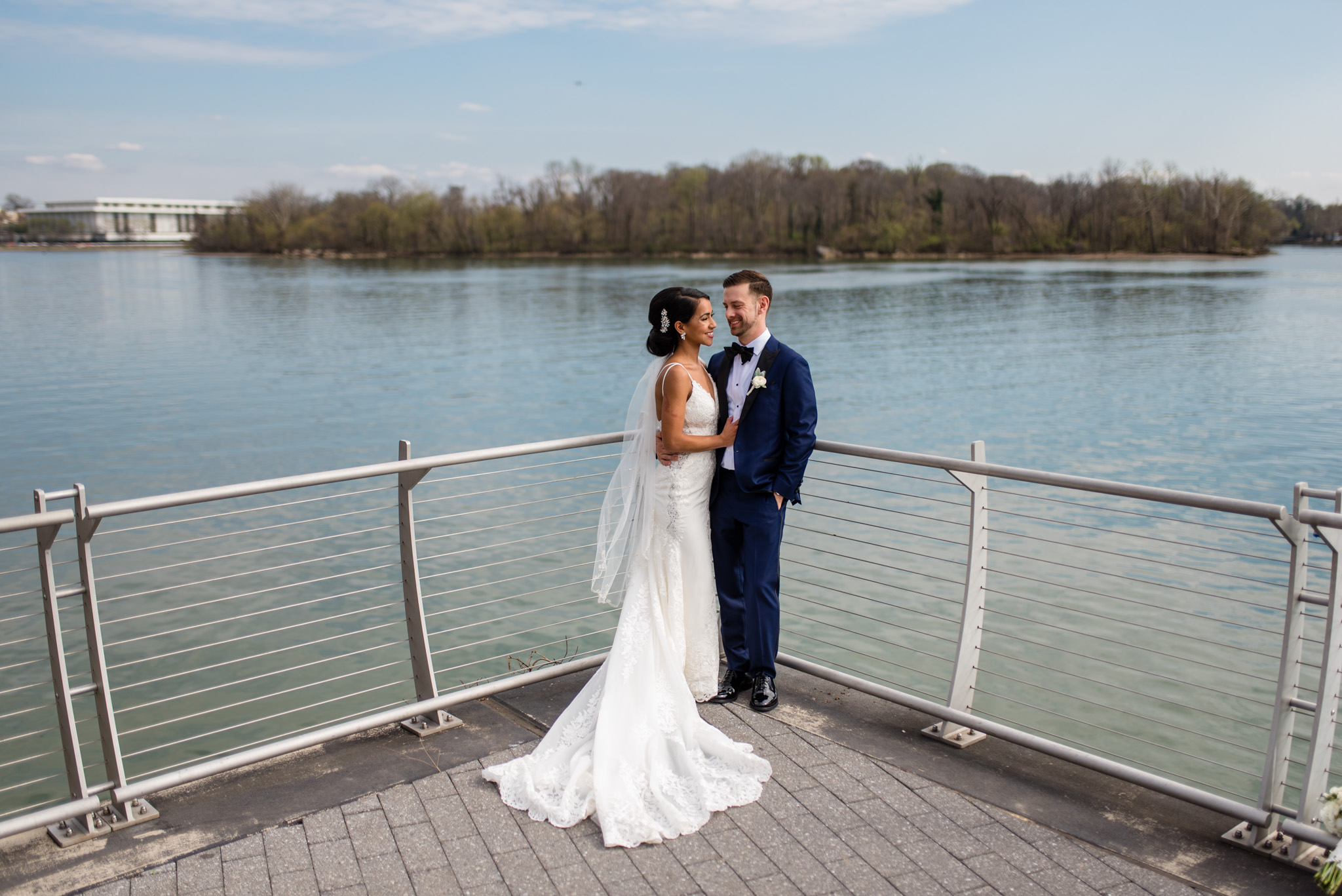 georgetown waterfront wedding