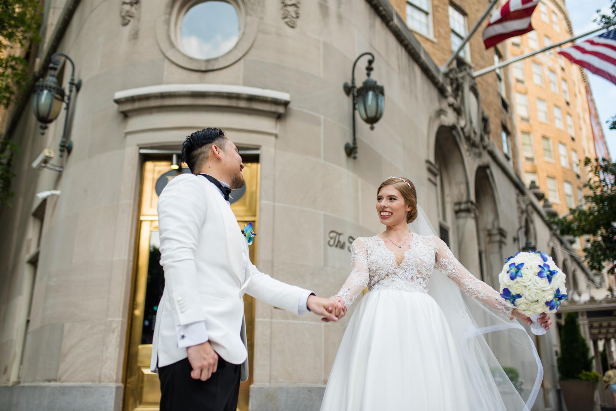 Mayflower hotel wedding DC