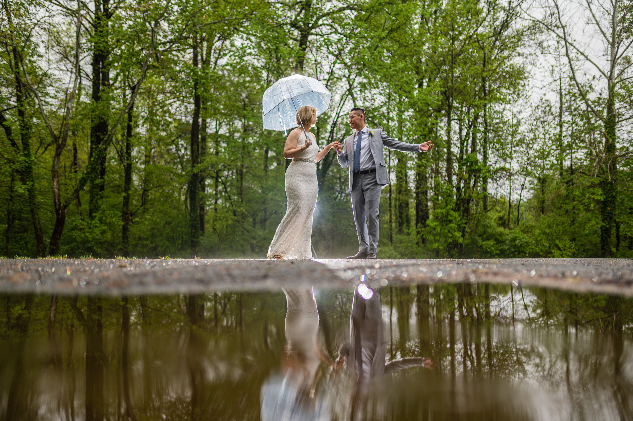 Elopement wedding portraits