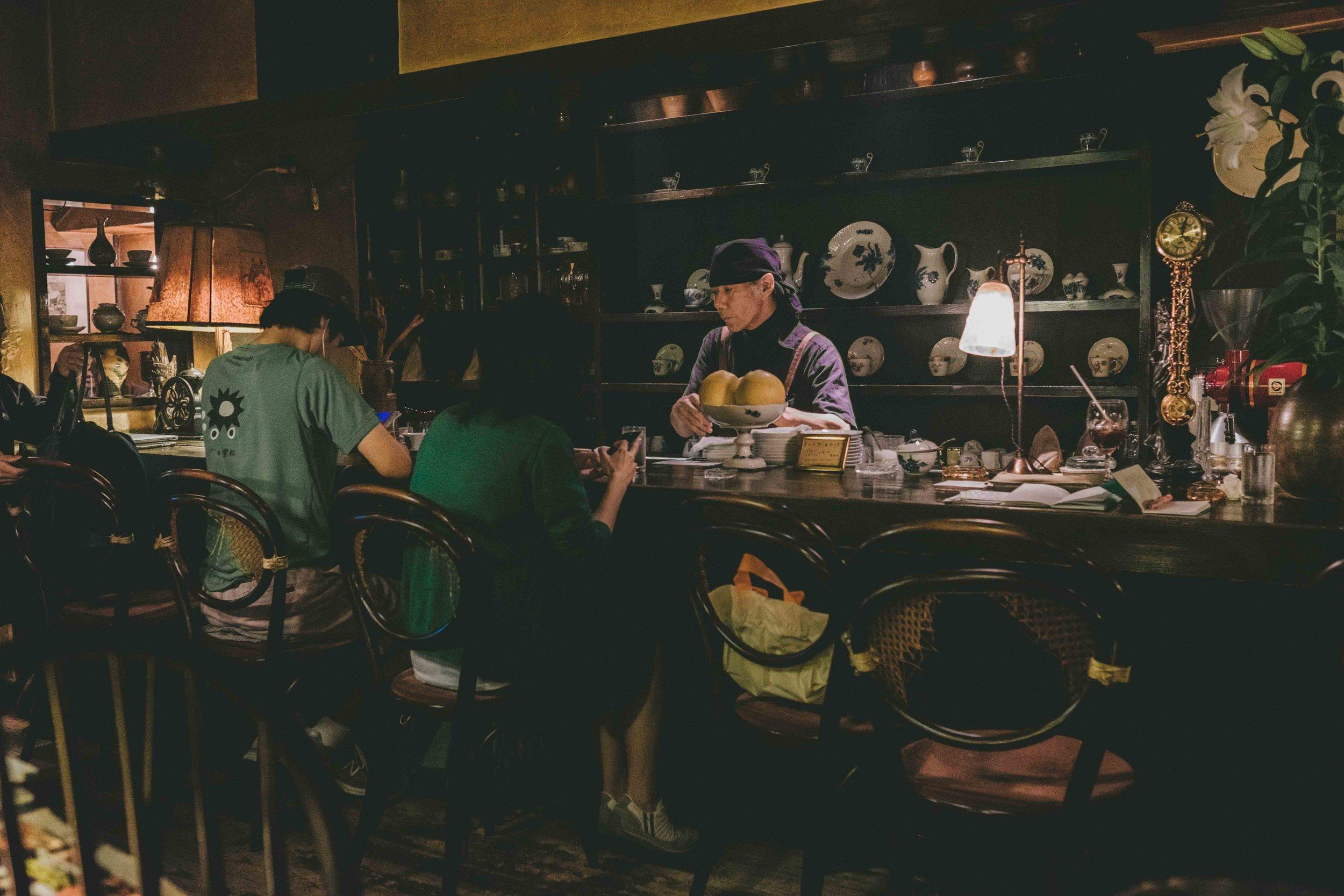 Café Trois Chambres . A pleasant time warp in a café run by a lovely elderly couple.