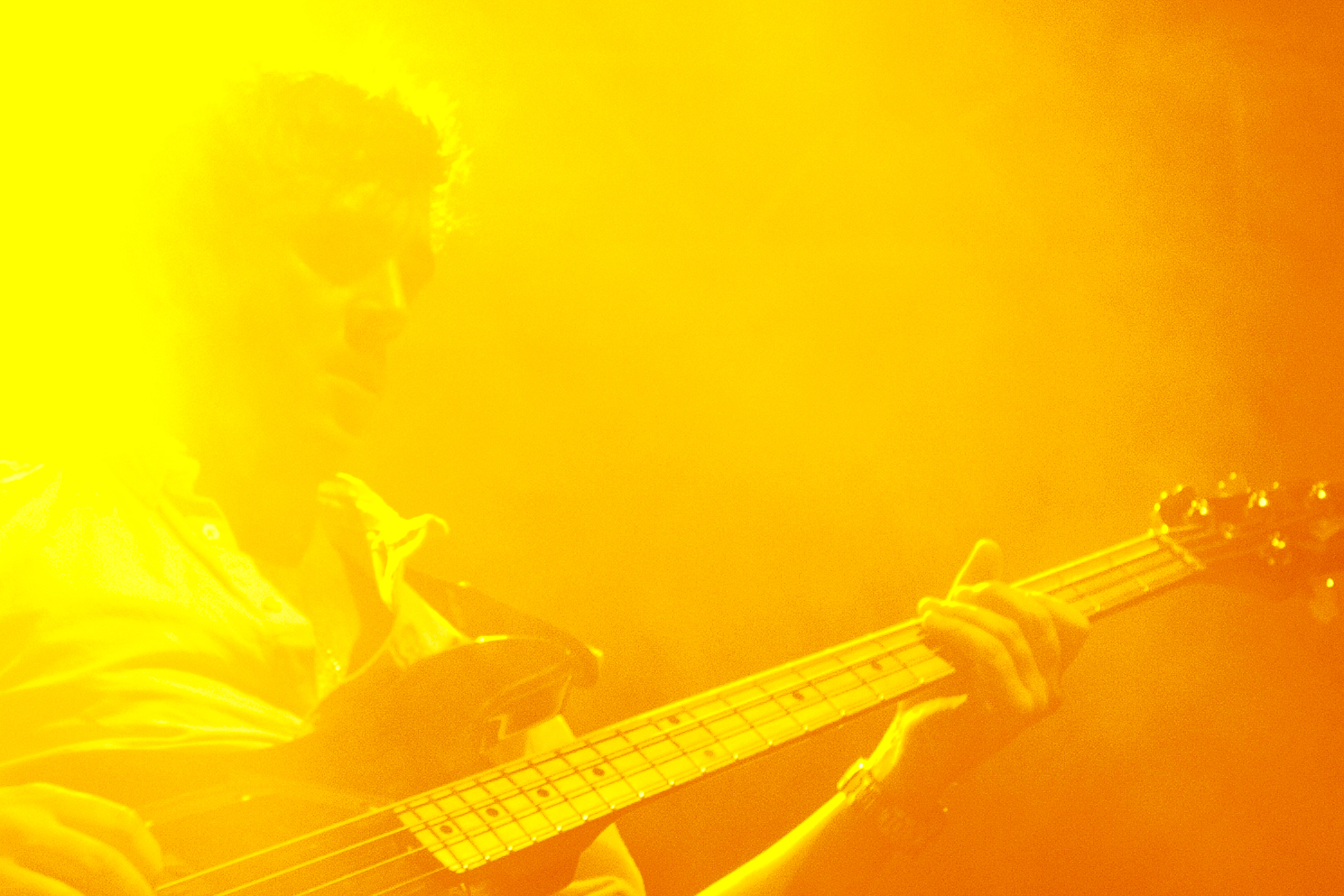 Berlin. January 2013.   Enter Shikari   playing the Kesselhaus.