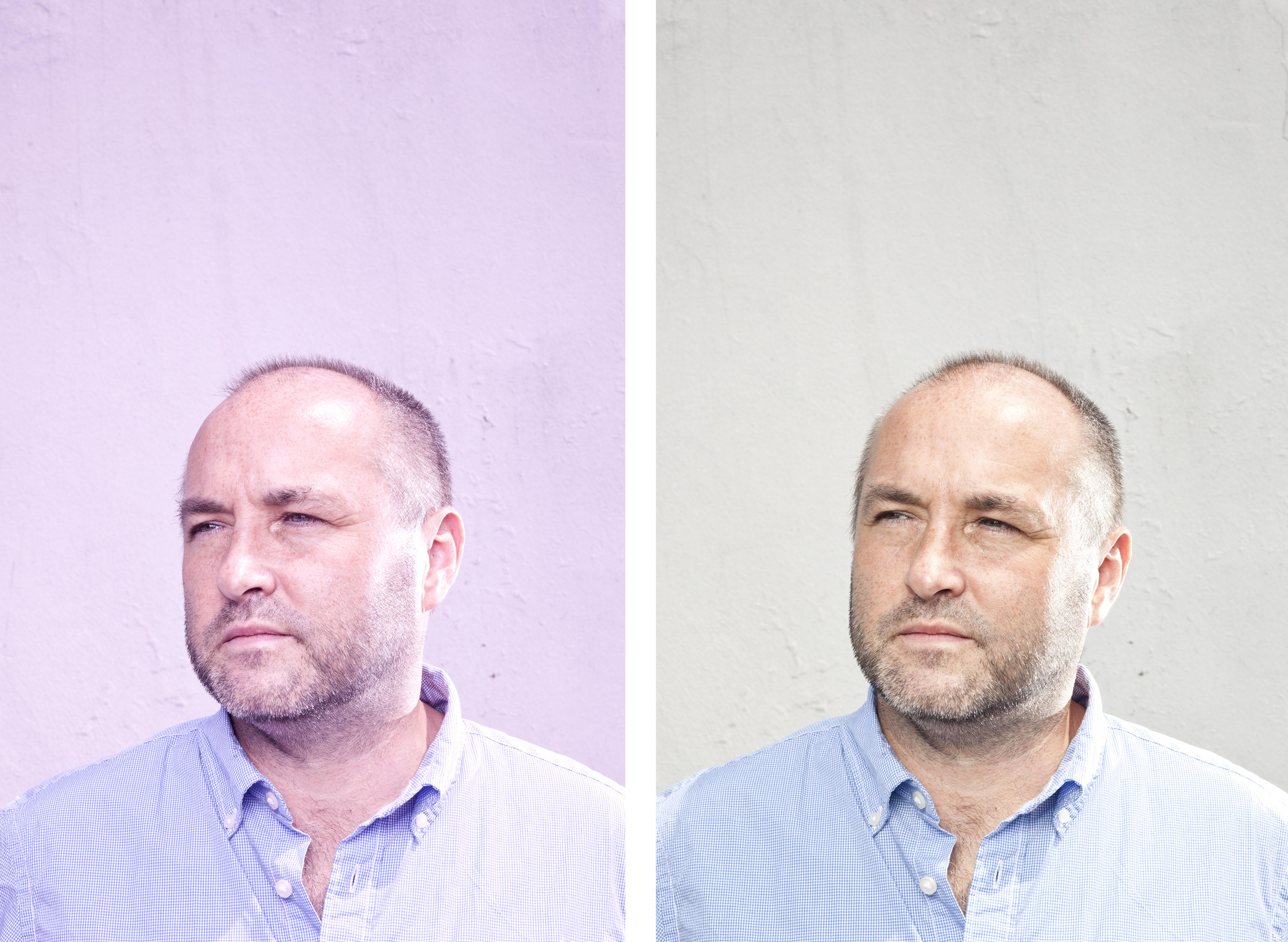 National Book Award winner   Colum McCann   in his hometown of Dublin.  Photographed for the   The Irish Independent  .