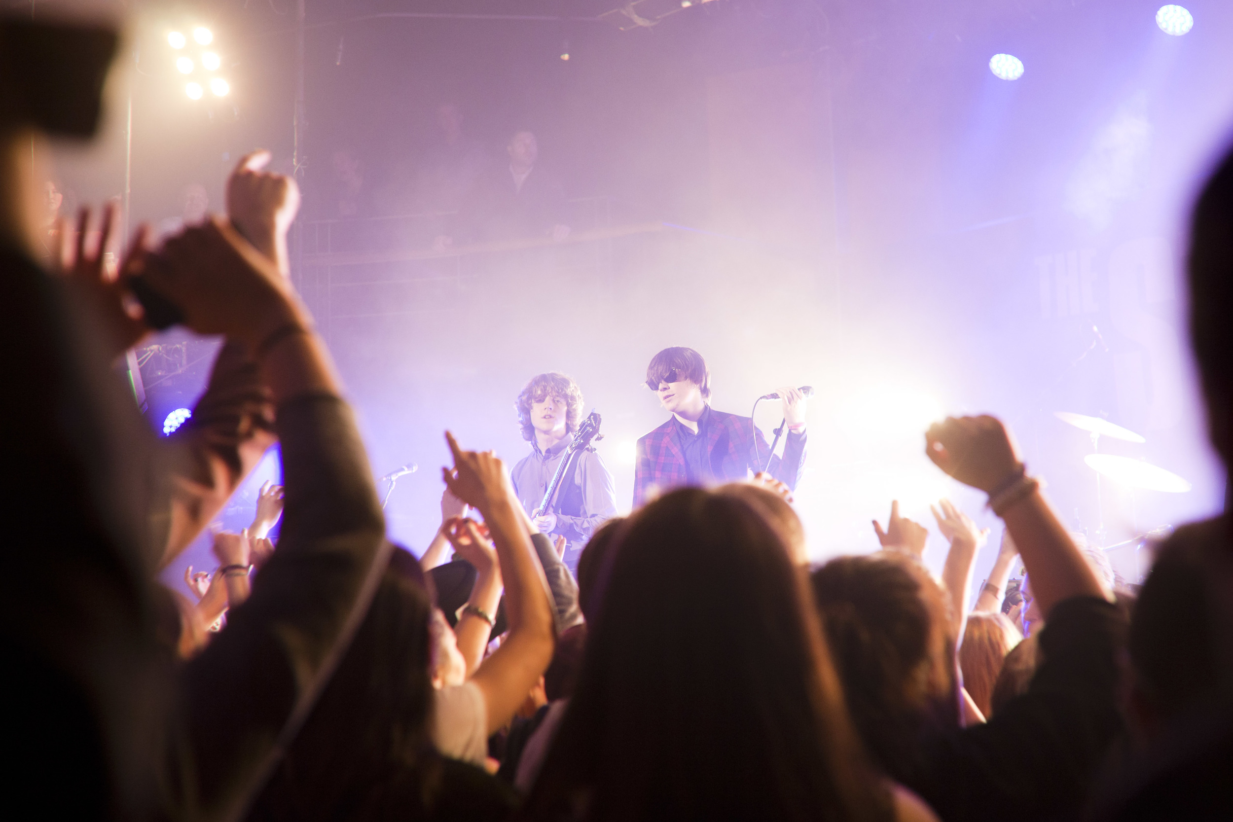 The Strypes   playing The Academy in Dublin.