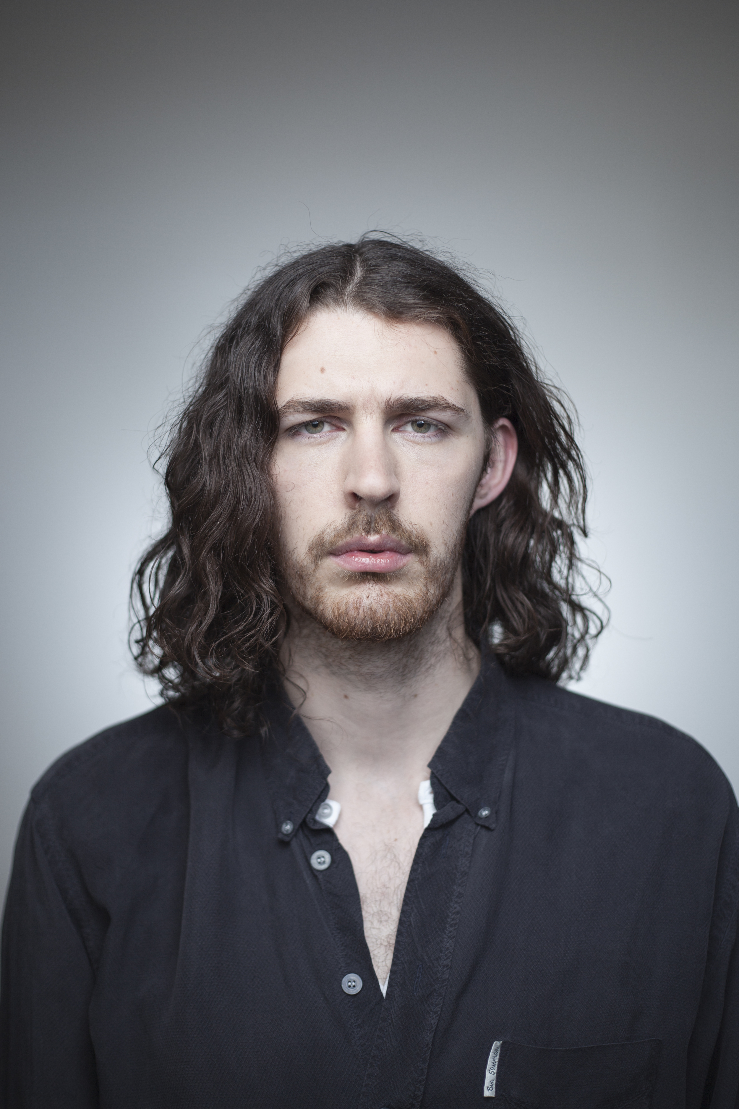 Hozier  photographed for the cover of Hot Press Magazine .