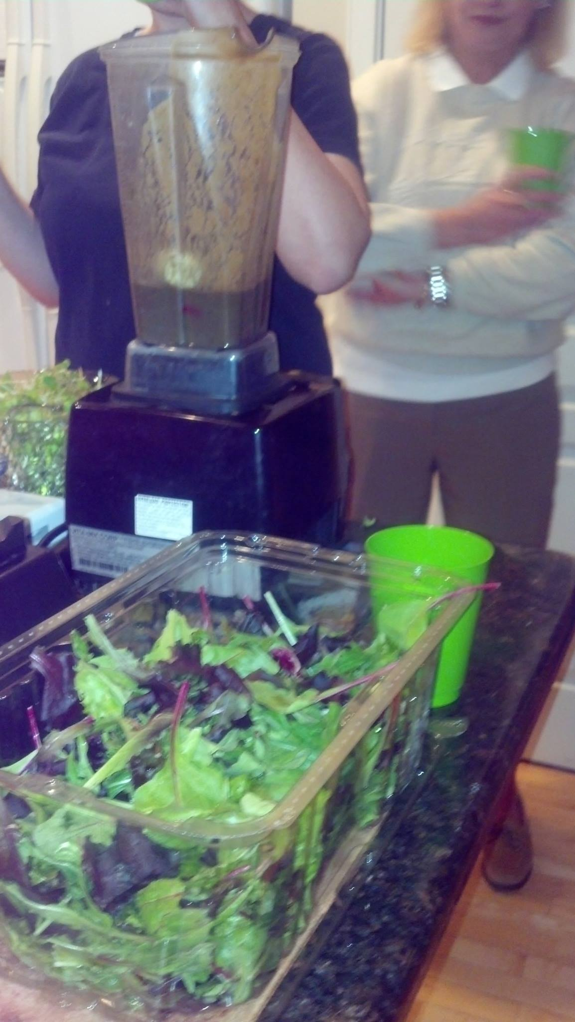 Photo from one of Millie's Nutrition Workshops
