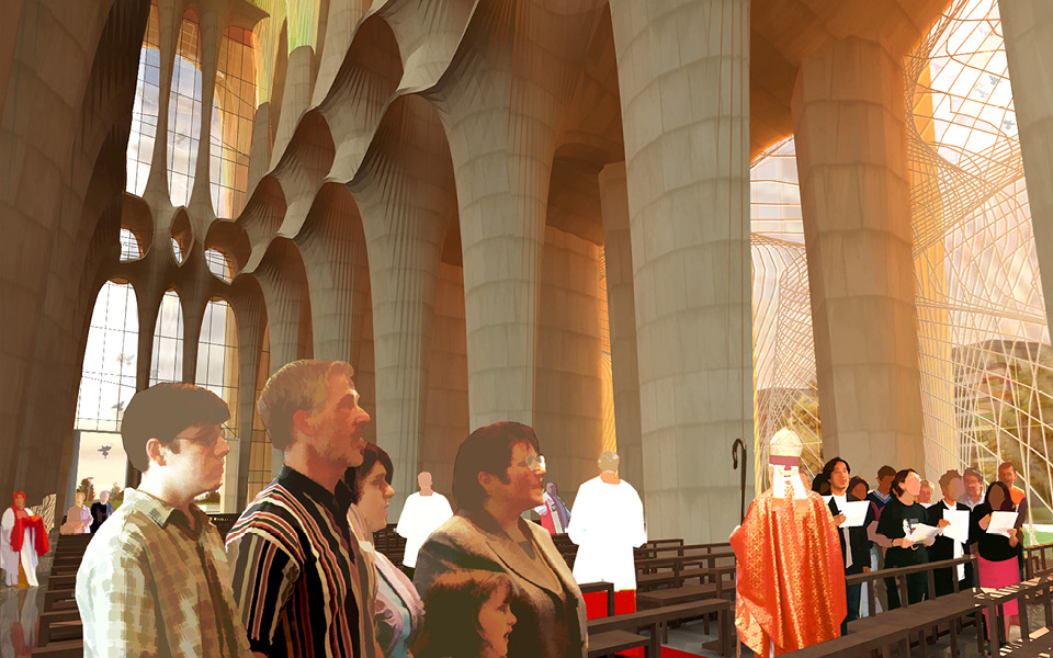 Hybrid Cathedral @ tessellate a+d
