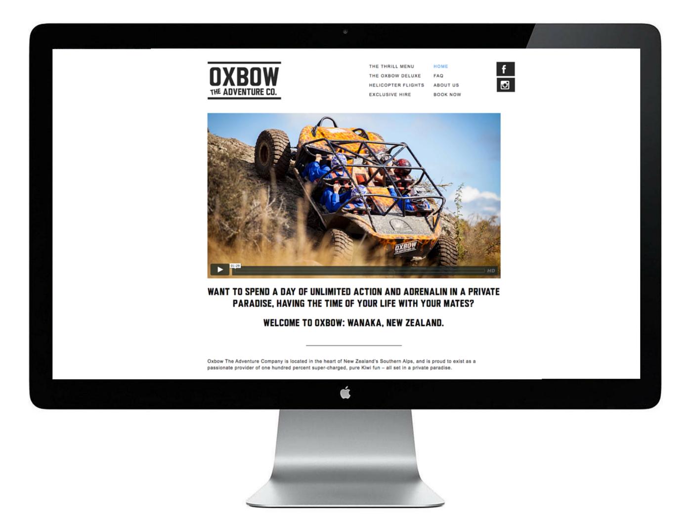 Oxbow, The Adventure Company, Wanaka