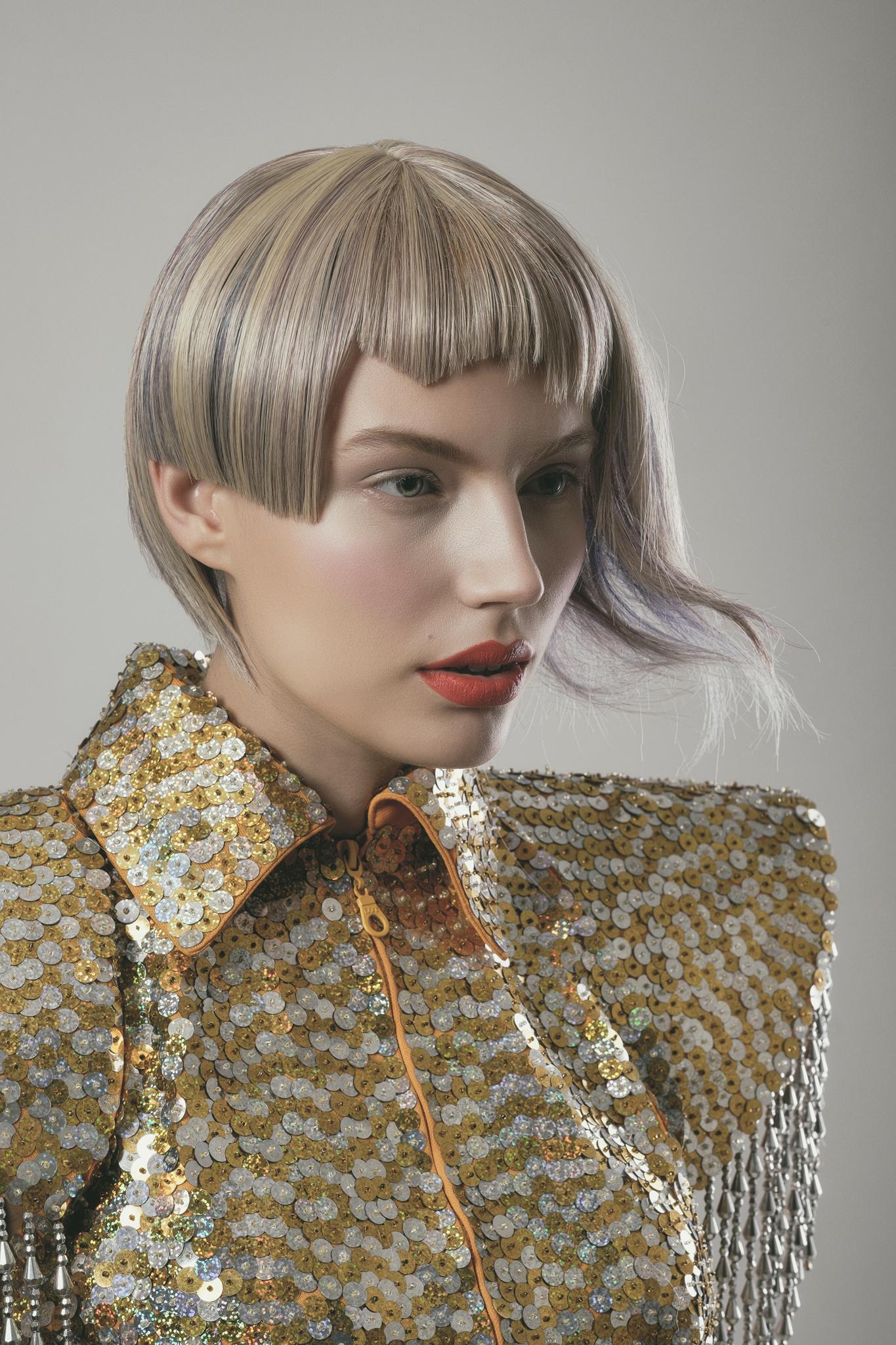 Model: Izabella Dehner MUA: Bambi Borg Hair stylist: Ari Koponen Designer: Aviad Arik Herman