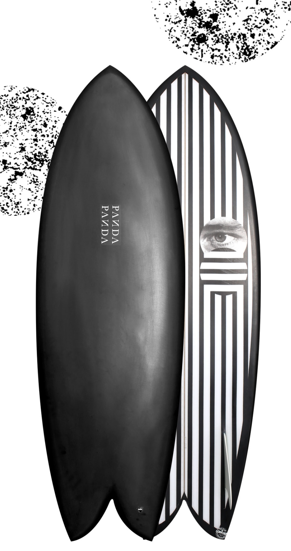 ASTRO ZOMBIE     Our twin keel fish has been tweaked and refined taking this guy to a whole other level. We have given this guy a new outline making it sleeker, refined the rails for control and changed the bottom. The bottom now consists of a rolled vee entry to single to deep double concave. The main new feature is the channels running outside the fins using the twinzer concept which has given this board a whole new gear. Its fast.