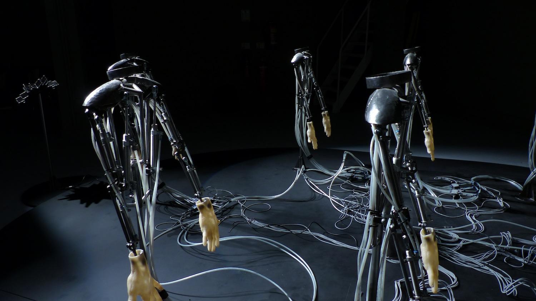 Peter William Holden- Dance Machines - Courtesy of Illuminate Productions.
