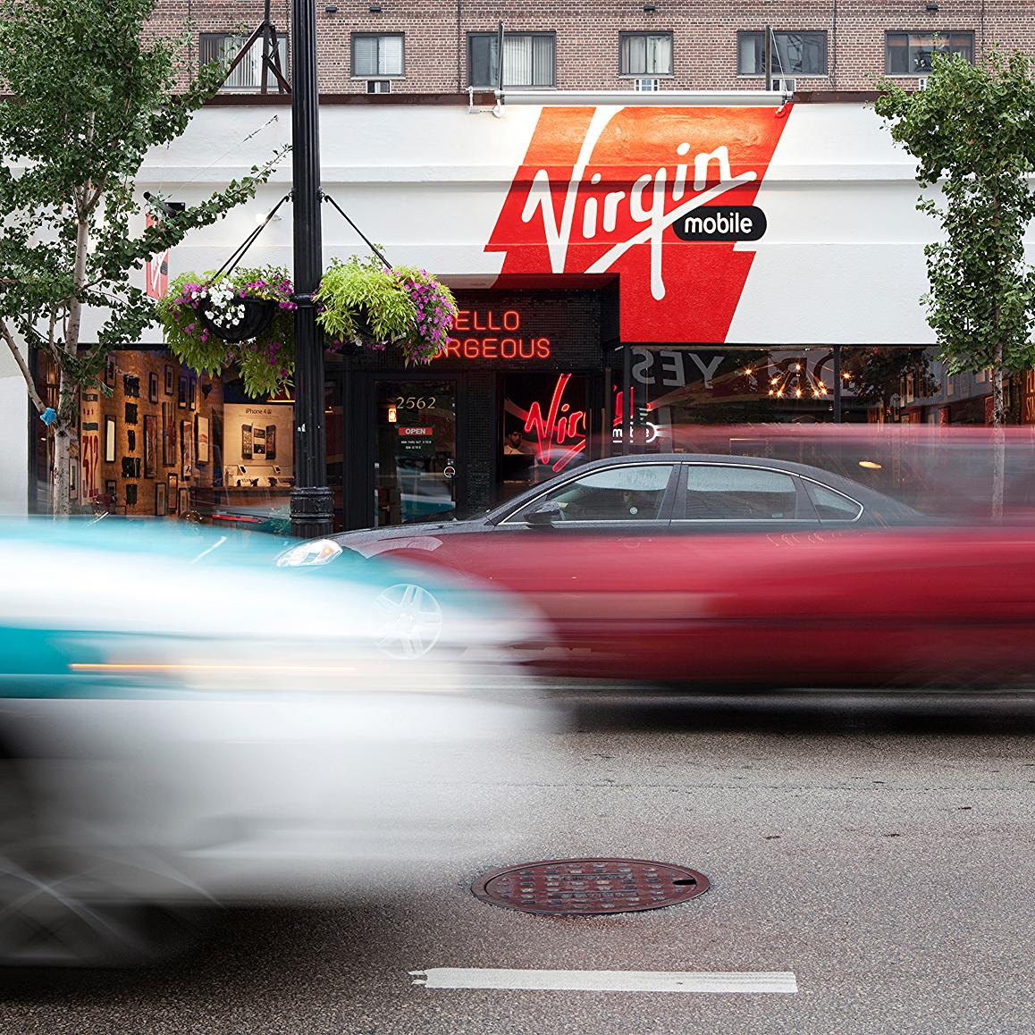 Virgin Mobile Chicago Store — Walse