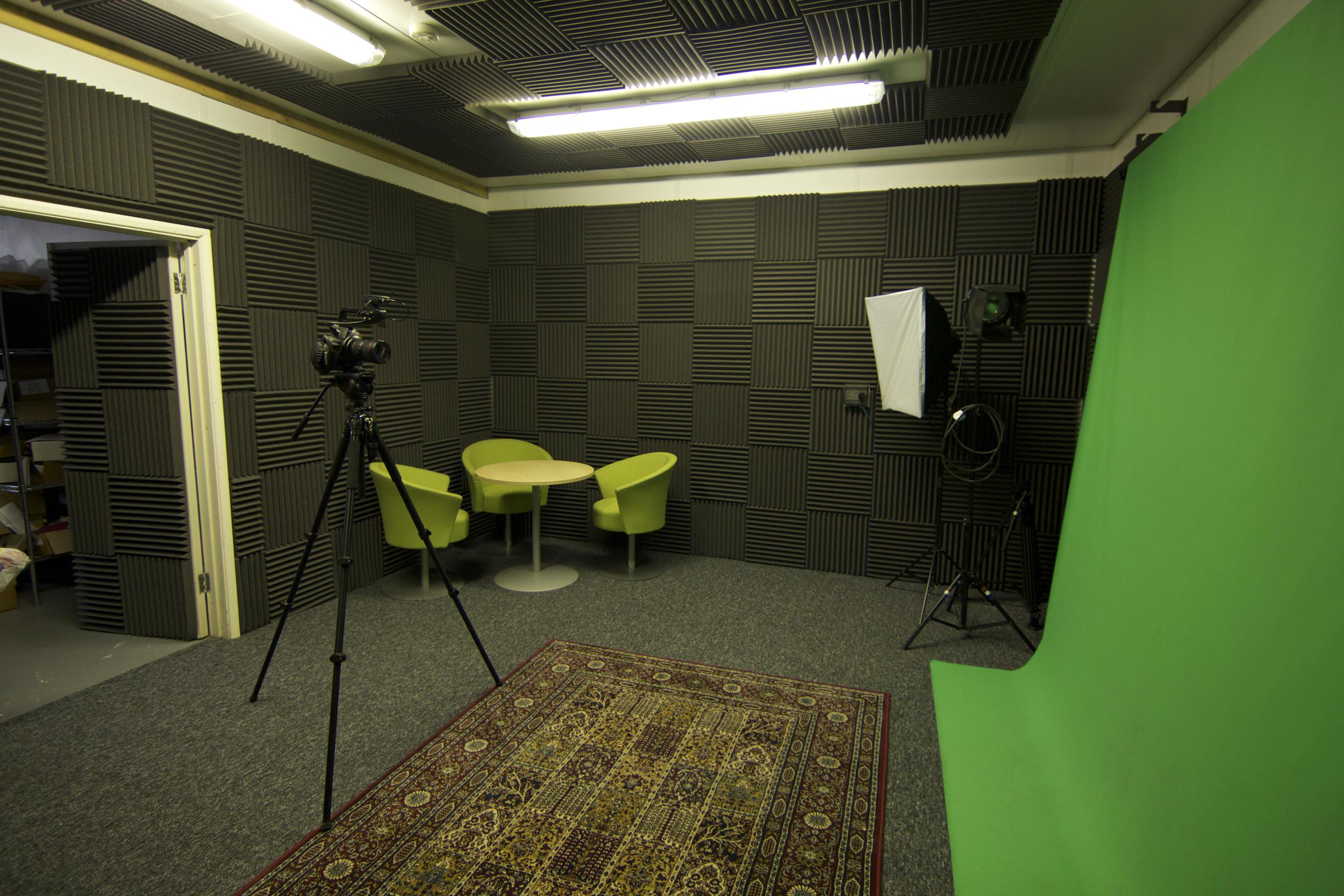 The green screen facilities have proven popular with many of United Magic's clients.