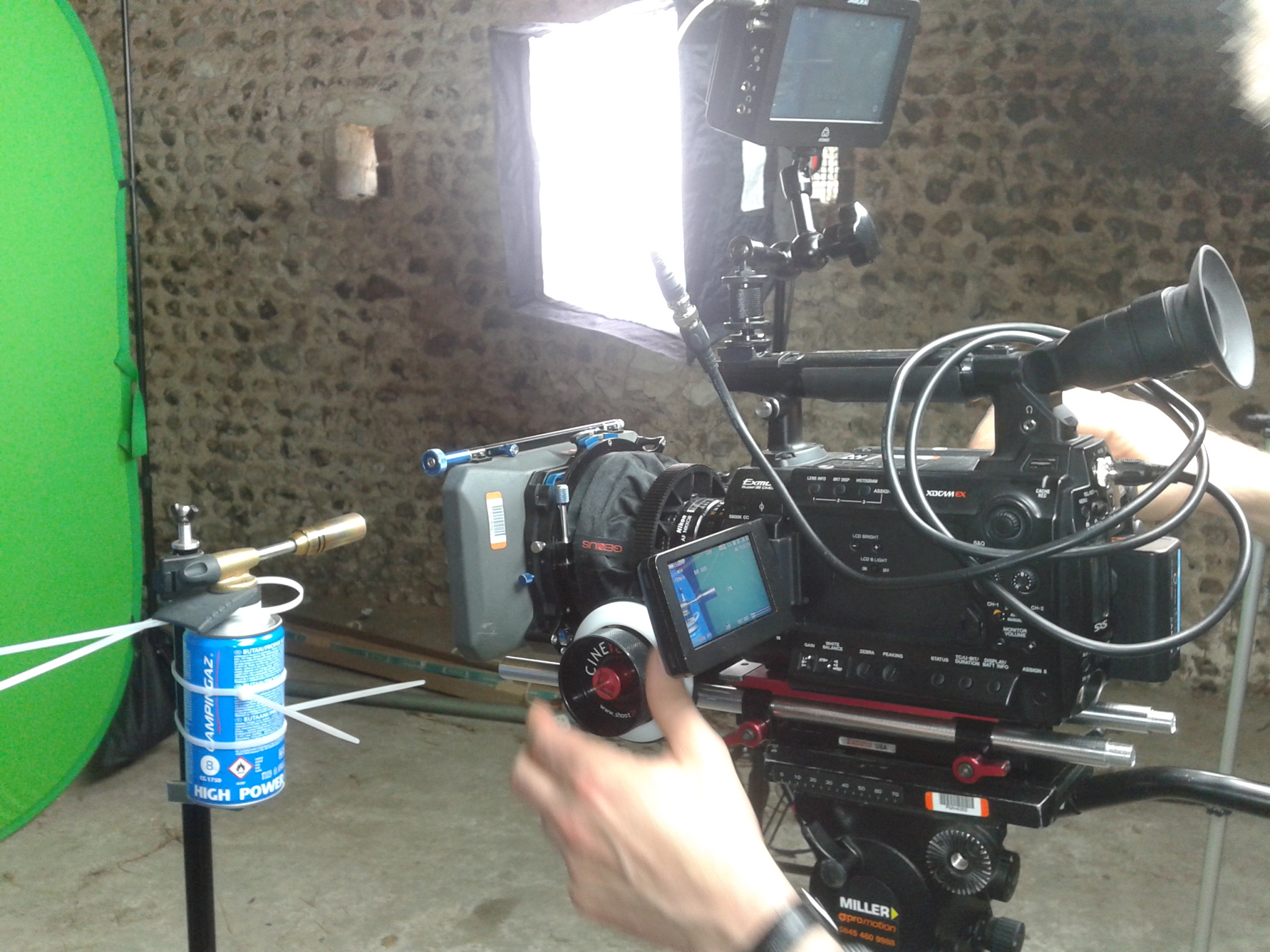 Testing the Sony F3 and Atomos recorder