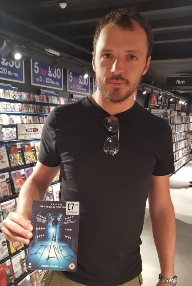 Quite a surreal moment walking into HMV on this occasion