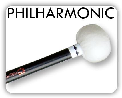 Similar in design to the standard MS timpani range these mallets have slightly longer maple handles dipped in black lacquer offering an attractive alternative appearance.